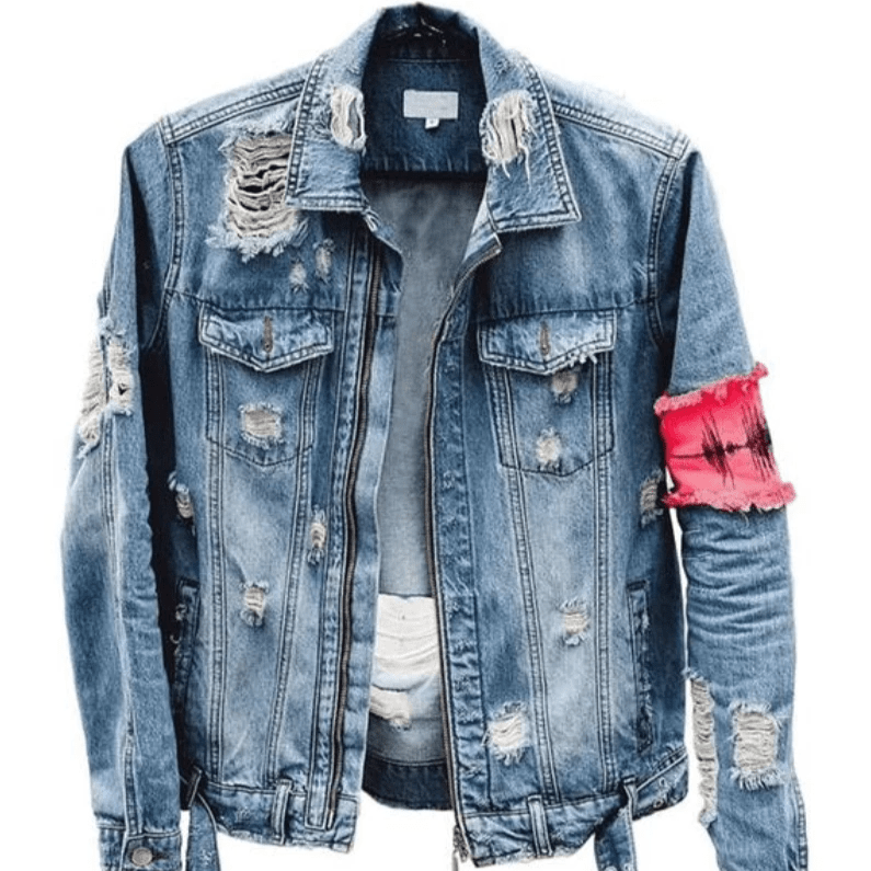 Hypest Fit outerwear [DESIGNER] Anarchist Denim Jacket