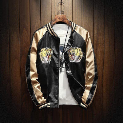Hypest Fit outerwear Gold / S TIGER BOMBER JACKET
