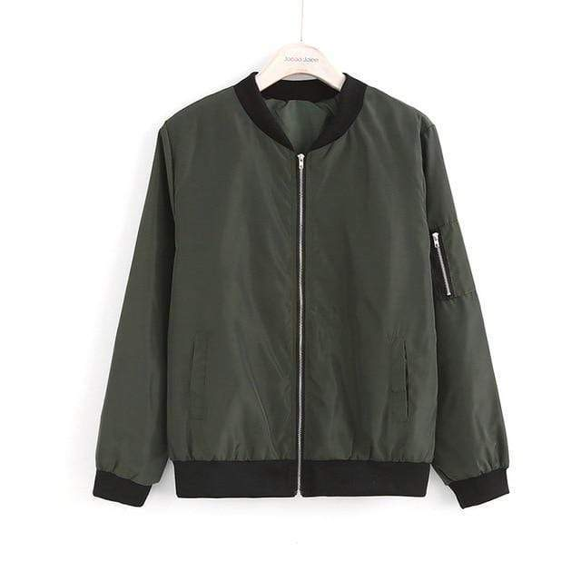 Hypest Fit outerwear Green / L Women MIST Bomber Jacket
