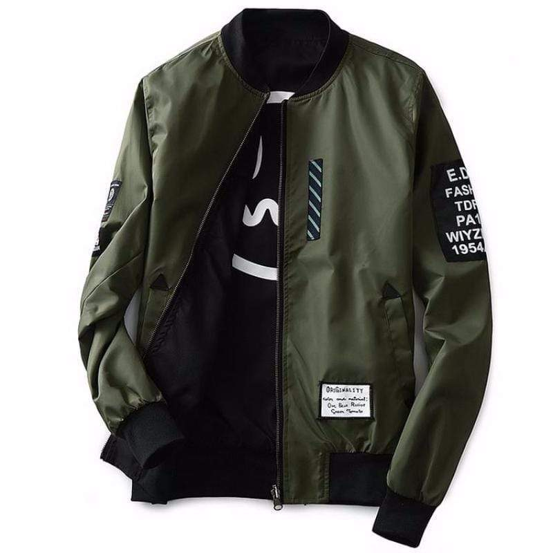 Hypest Fit outerwear Green / S LORENTZ Ribbed Reversible Bomber (4 colors)