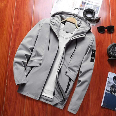 Hypest Fit outerwear Grey / S / United States PILOT Windbreaker