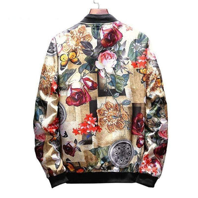 Hypest Fit outerwear Ikigai Casual Bomber Jacket