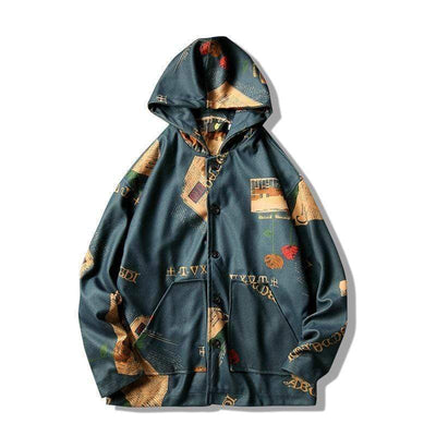 Hypest Fit outerwear INS Hooded Bomber Jacket