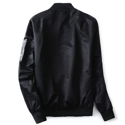 Hypest Fit outerwear LORENTZ Ribbed Reversible Bomber (4 colors)