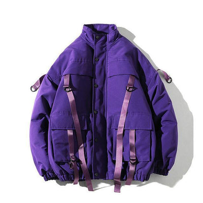 Hypest Fit outerwear Purple / S ARROW Parka