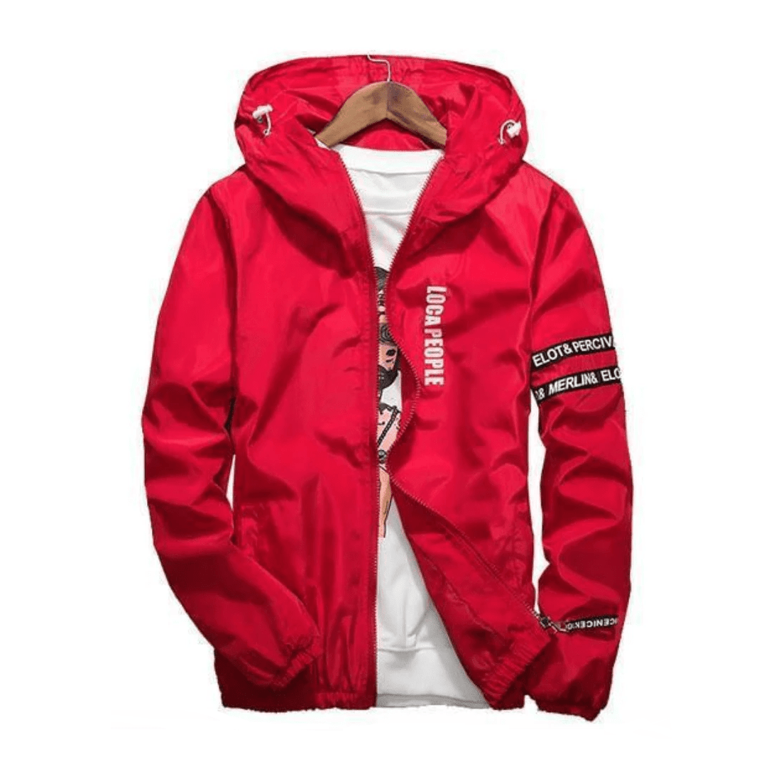 Hypest Fit outerwear RED / S CRASSUS Windbreaker (7 colors)