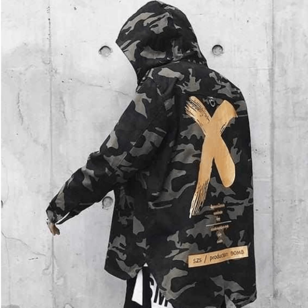 Hypest Fit outerwear S / Gold HYPE X Camo Windbreaker