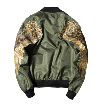Hypest Fit outerwear S / Green PROPHET Bomber