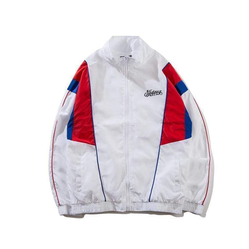 Hypest Fit outerwear S / White MA-2 RETRO WINDBREAKER (2 colors)