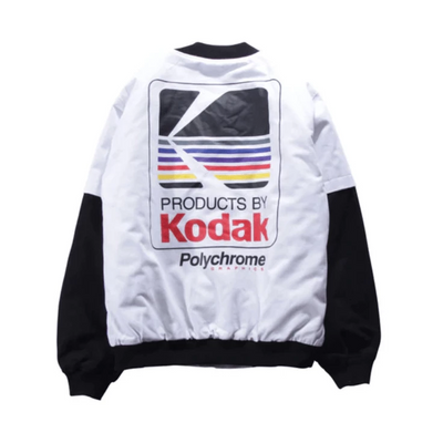 Hypest Fit outerwear S / White SNAP Bomber