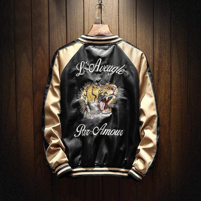 Hypest Fit outerwear TIGER BOMBER JACKET