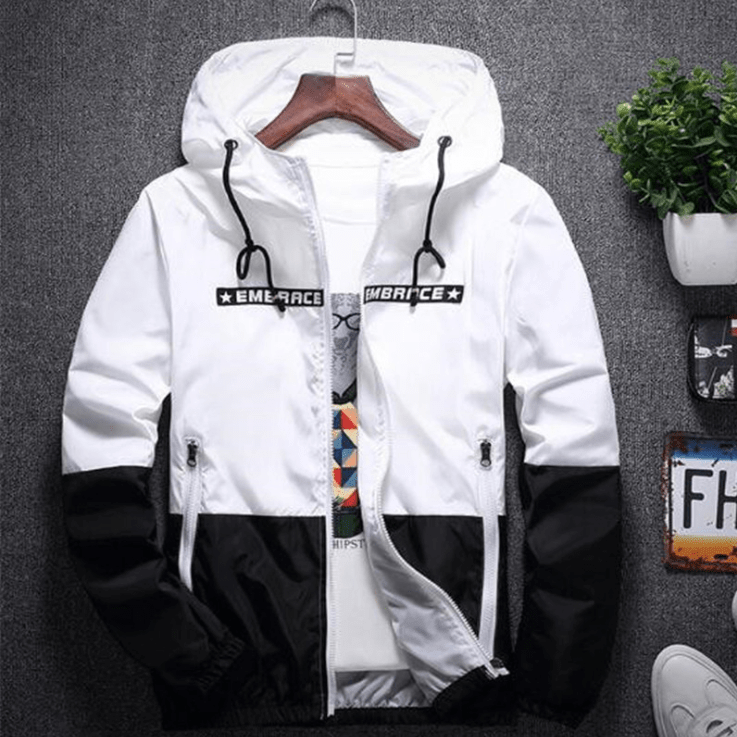 Hypest Fit outerwear White & Black / S OSIRIS Windbreaker (5 colors)