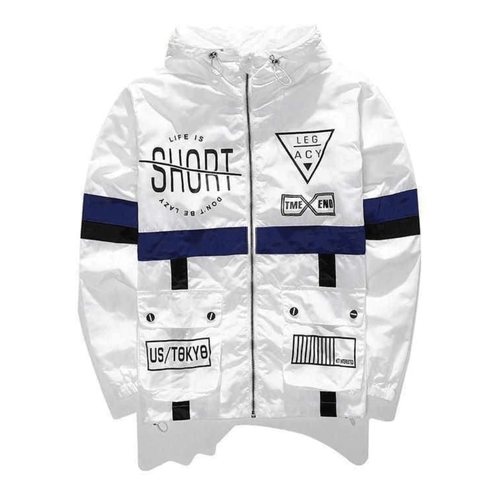 Hypest Fit outerwear White / S Forever HYPE Windbreaker