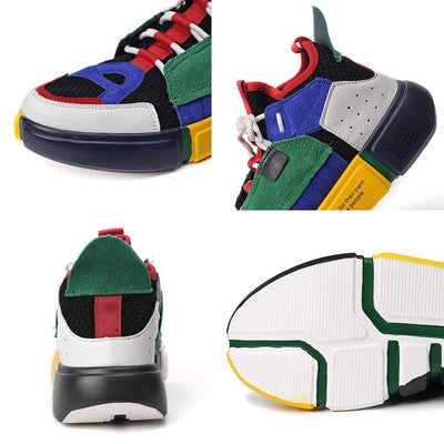 "Hypest Fit shoes ""HY"" Tetris Block Sneakers"