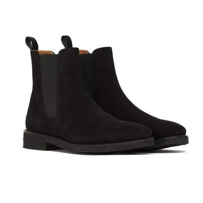 Hypest Fit shoes Jet Black Chelsea Boots