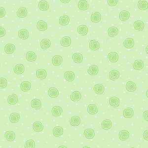 AE Nathan Co Flannel Swirl Green Dot CMFY-0019-66