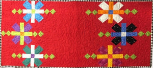 Rock Candy Table Runner Kit - pattern design by Heather Peterson of Anka's Treasures