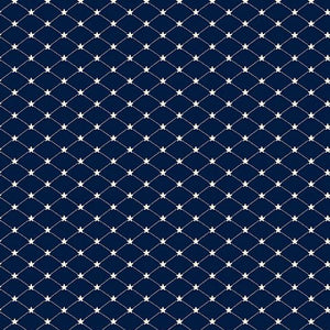 Andover Allegiance Tufted Star Navy A-9606-B1
