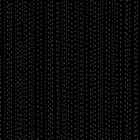 Andover Fabrics Century Black on Black CS-9673-K