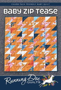 Baby Zip Tease Quilt Pattern from Villa Rosa Designs