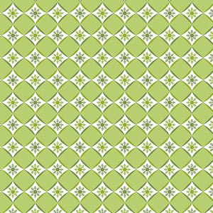 Contempo Fabrics Joy Diamond Flake Lime 0690940B