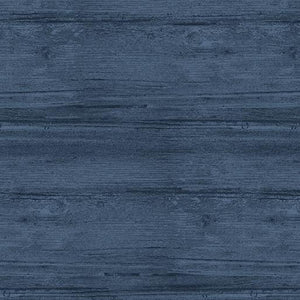 "Benartex Washed Wood Harbor Blue 108"" Wide 7709W55B"