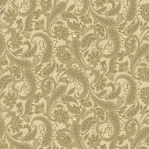 Benartex Winterberry Winter Tonal Paisley Honey 0964430B