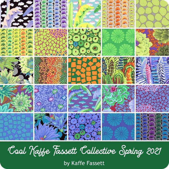 Free Spirit Fabrics Kaffe Fasset Collective February 2021 Charm 42 Piece 5