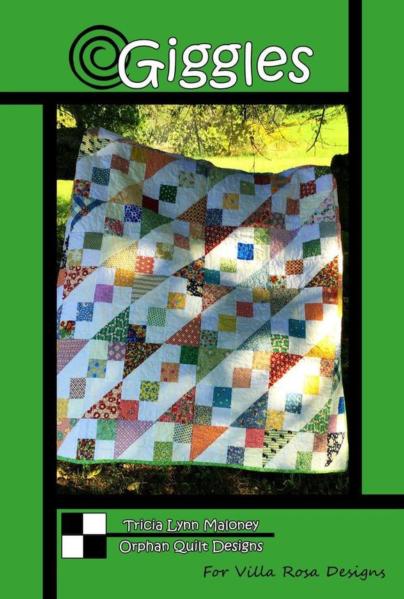 Giggles Quilt Pattern from Villa Rosa Designs
