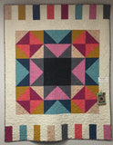 "Movie Star Quilt Kit Finished Size 53"" x 68"""
