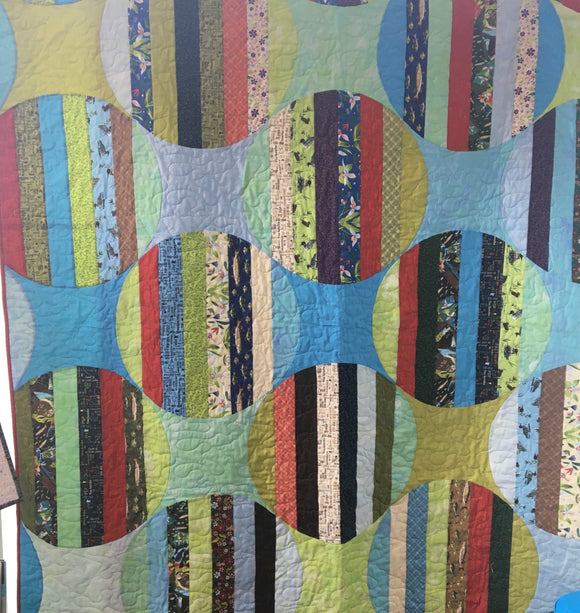 Oriana Kit in Quilt Minnesota fabrics - pattern by Alison Glass