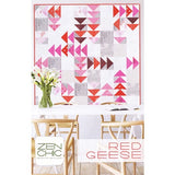 Red Geese Quilt Kit- pattern design by Zen Chic