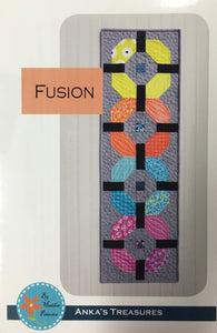 Fusion Table Runner Pattern By Heather Peterson of Anka's Treasures