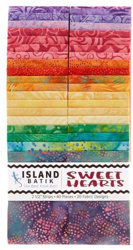 Island Batik Summer '20 Sweet Hearts Strip Pack 2.5