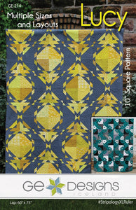Lucy Quilt  Pattern by Gudrun Erla from GE Designs
