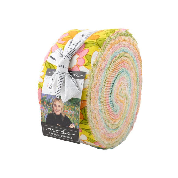 Moda Fabrics A Blooming Bunch Jelly Roll 40 Piece Assorted  2.5