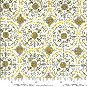 Moda Fabrics Bee Grateful Parchment 19968 11