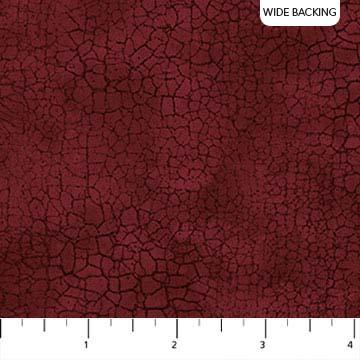 Northcott Crackle Red/Wine 108