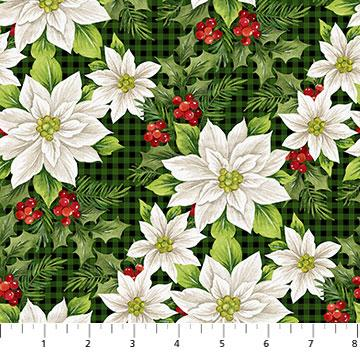 Northcott Fabrics Farmhouse Christmas 23494-99