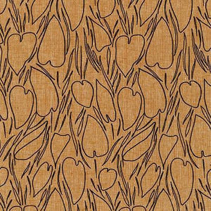 Robert Kaufman Driftless Pecan Cotton Linen Blend AFH-19017-408