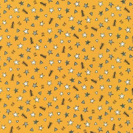 Robert Kaufman Fabrics Neighborhood Pals Sunshine Yellows  ADYD-19657-130