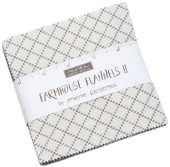 Moda Fabrics Farmhouse Flannel II Charm Pack 42 - 5