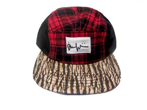 Timber Flannel Camper Cap