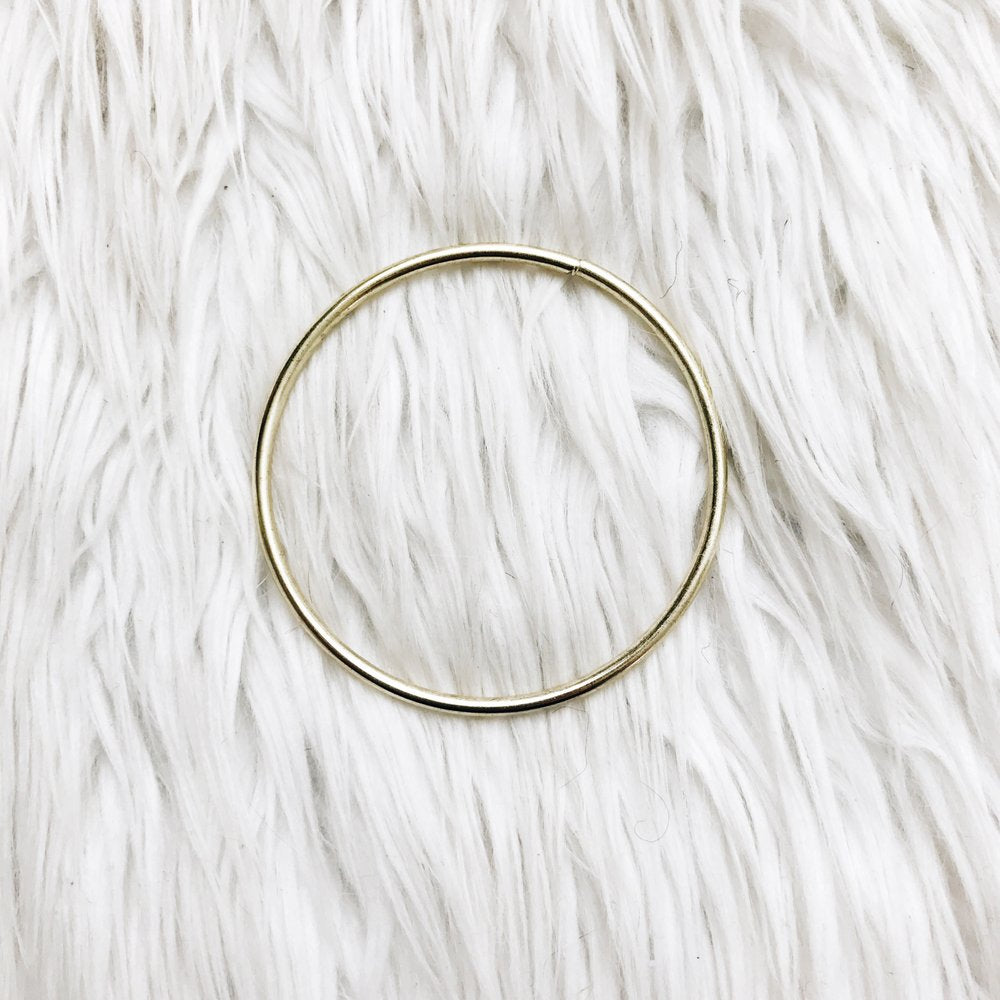 large brass o ring
