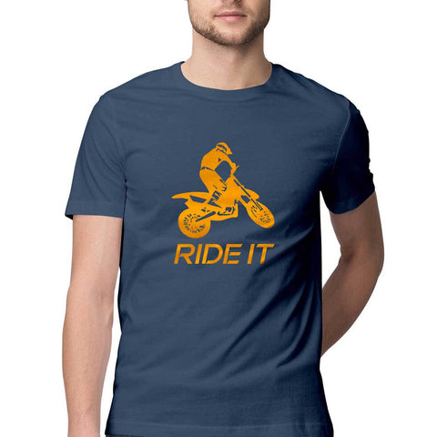 NAVY BLUE ORANGE RIDER