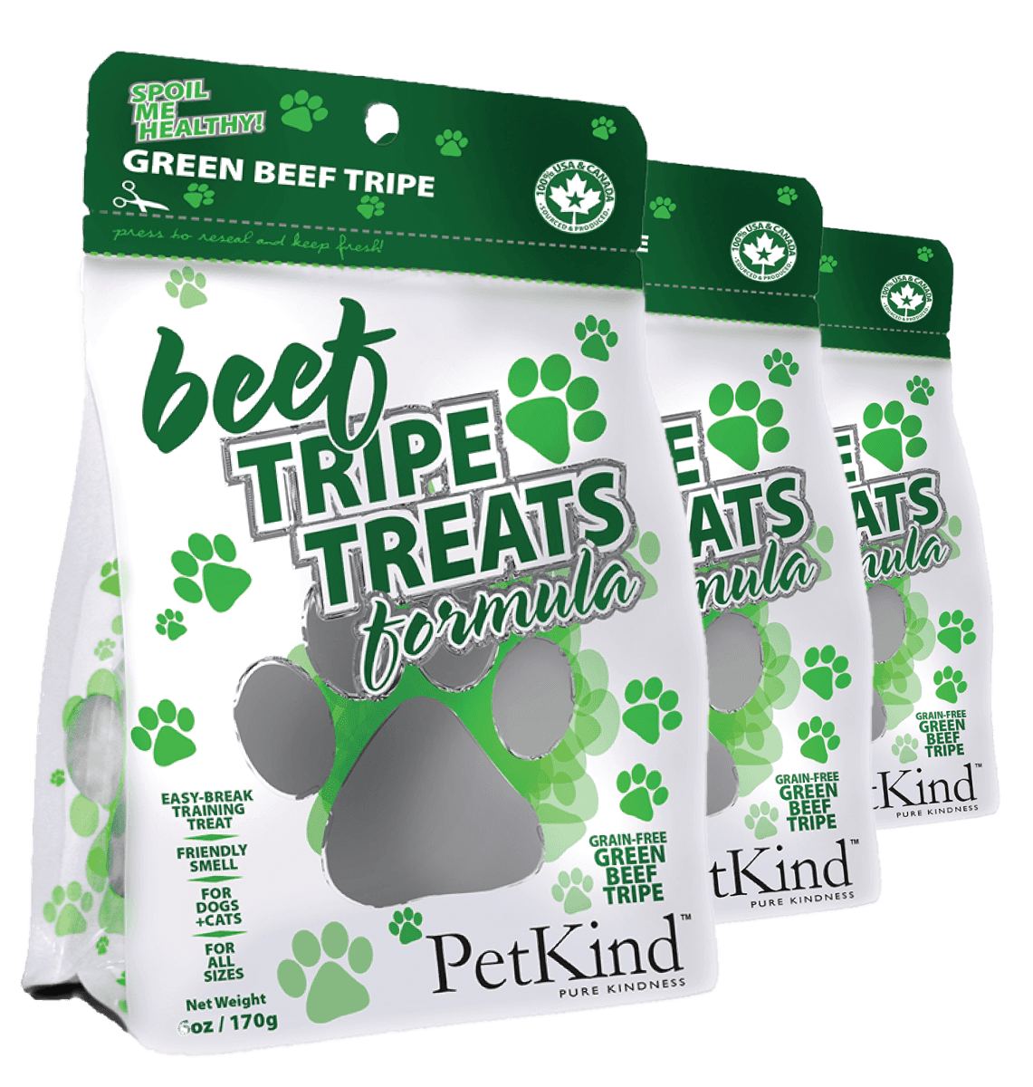 Beef Tripe Treat (6oz)