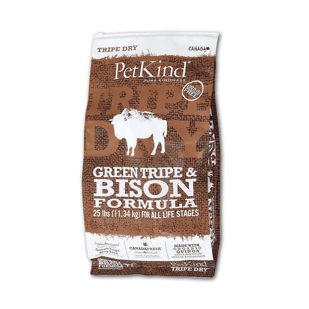 Tripe Dry Green Tripe and Bison (25 lbs)