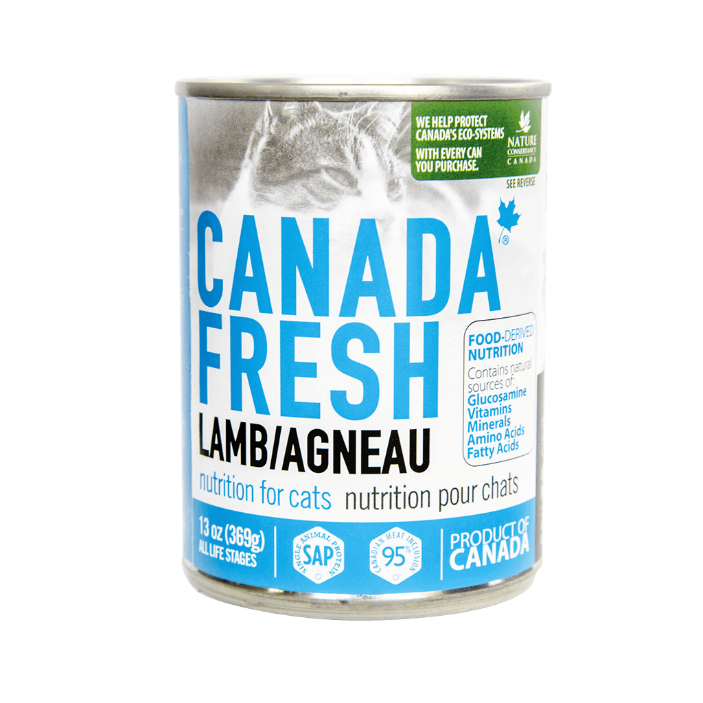 Canada Fresh Lamb for Cat 13 oz