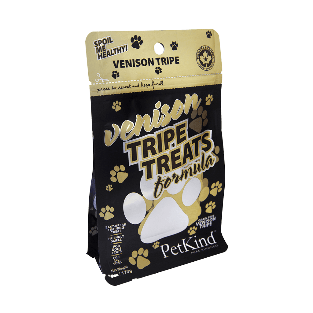 Tripe Treats Venison 6 oz