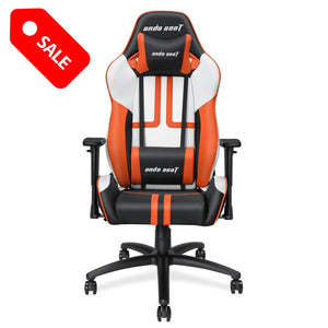 Anda Seat Viper Series Leather Gaming Chair,Large Size Recliner Chair with Lumbar Support Pillow Gaming Chair Anda Seat Orange 713194580011
